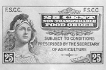 The First Food Stamp Issued In 1939